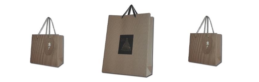 torby papierowe falowane