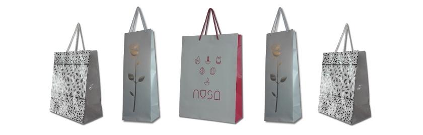 torby lakierowane z logo